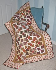 Triple Dip Quilt Pattern