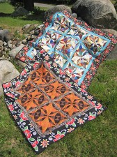 Without a Paddle Scrap Quilt Pattern