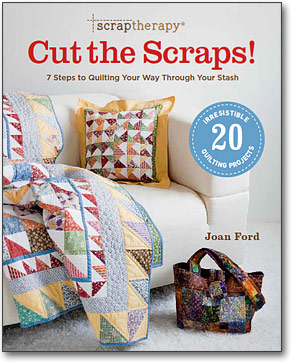 Cut the Scraps, Scrap Quilting Patterns
