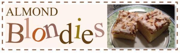 almondBlondies