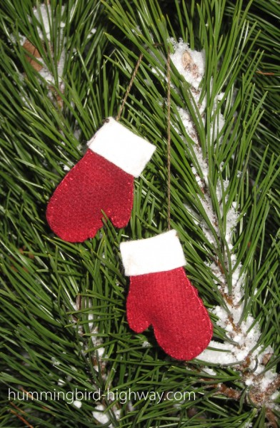 Free quilting pattern for a tree ornament