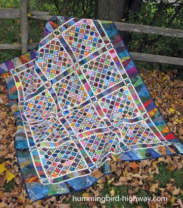 99 Bottles ScrapTherapy quilt pattern
