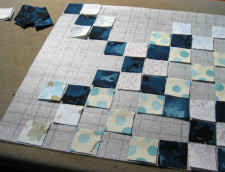 Mini Scrap Grid interfacing