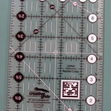 Creative Grids Ruler, 4-1/2x8-1/2""