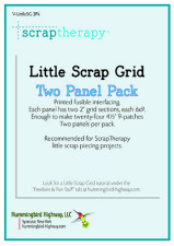 Little Scrap Grid Interfacing