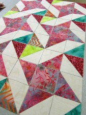 Ribbon Star Quilt Block Swap