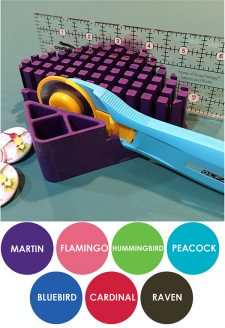 Your Nest Organizer desktop organizer comes in 7 colors