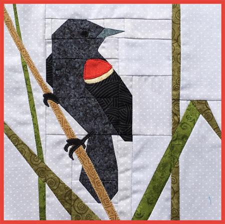 Red-winged Blackbird, The FLOCK