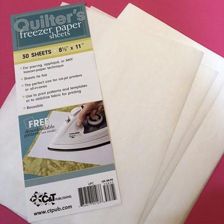 quilters freezer paper