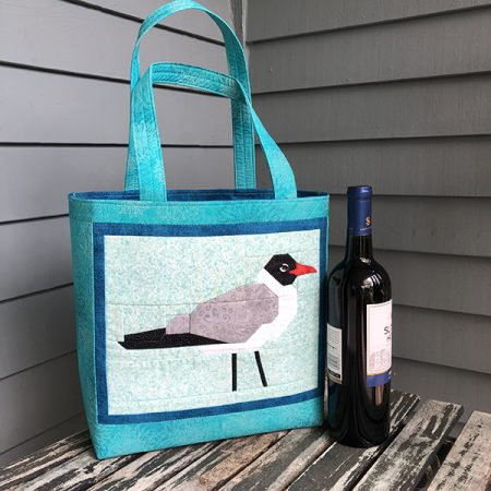 Slicker Tote with Flock Block