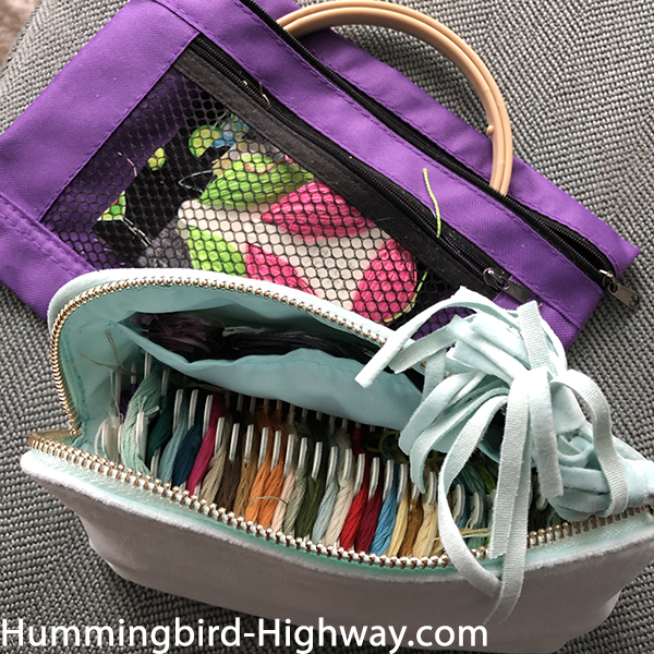 Pencil cases for craft storage