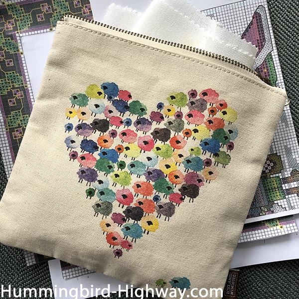 Canvas project bag