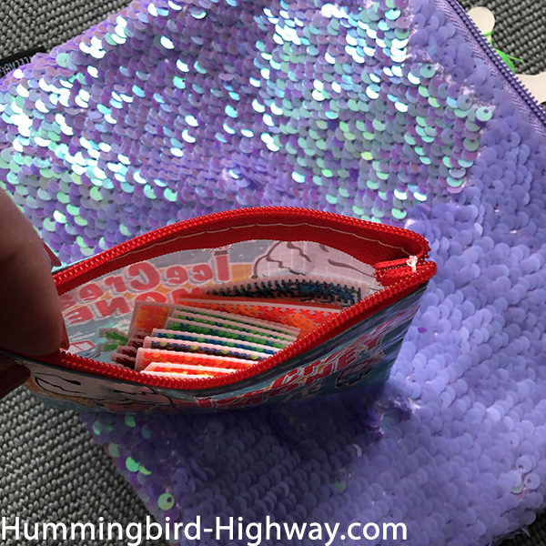 Sparkly project bag