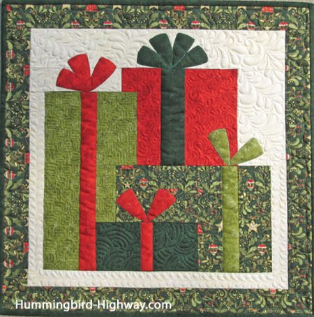 Under the Tree Quilt Pattern