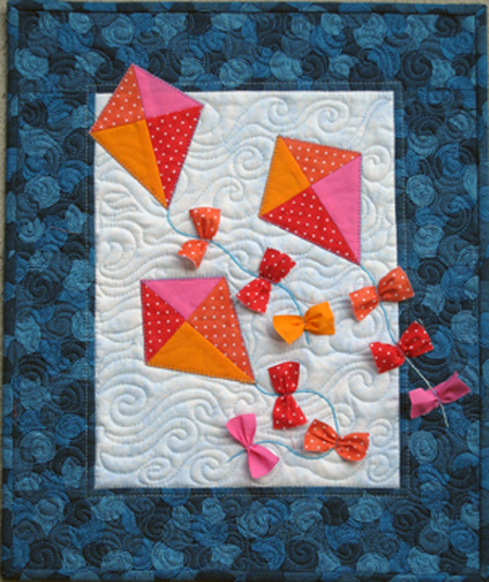 Kite Tales PDF small quilt pattern