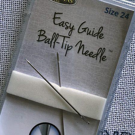 Ball tip needles