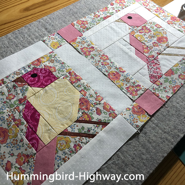 Moody Birds quilt blocks