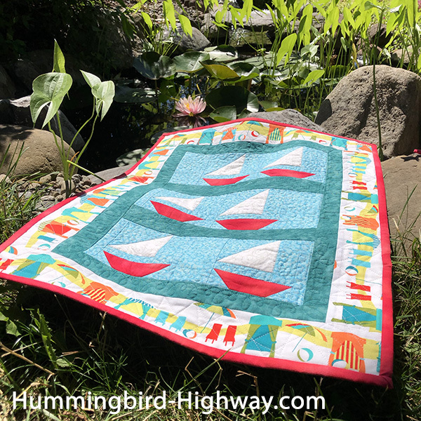Regatta quilt pattern