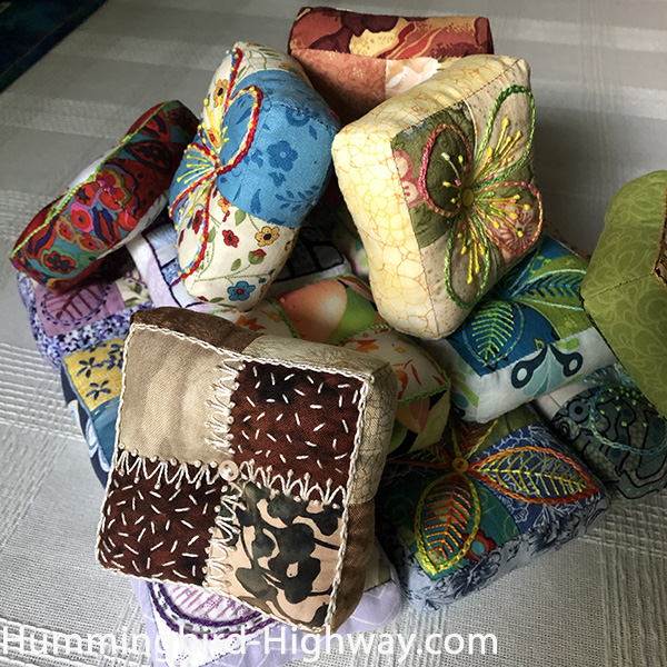 Puffy Fours Pin Cushion #20