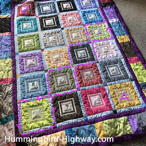 a lilttle quilting tip